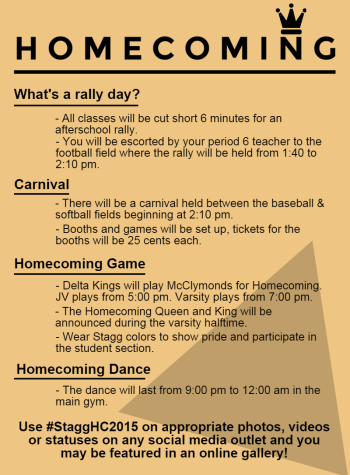 What's happening on homecoming?