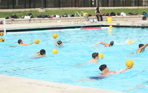 Water polo practice resumes after pool repair