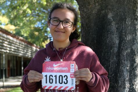 MARIPOSA GUERRERO: Relief in running