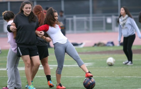 WEEKLY GALLERY: Girls soccer trains for season