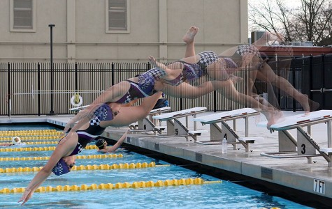 WEEKLY GALLERY: Swimming, serving, and sprinting