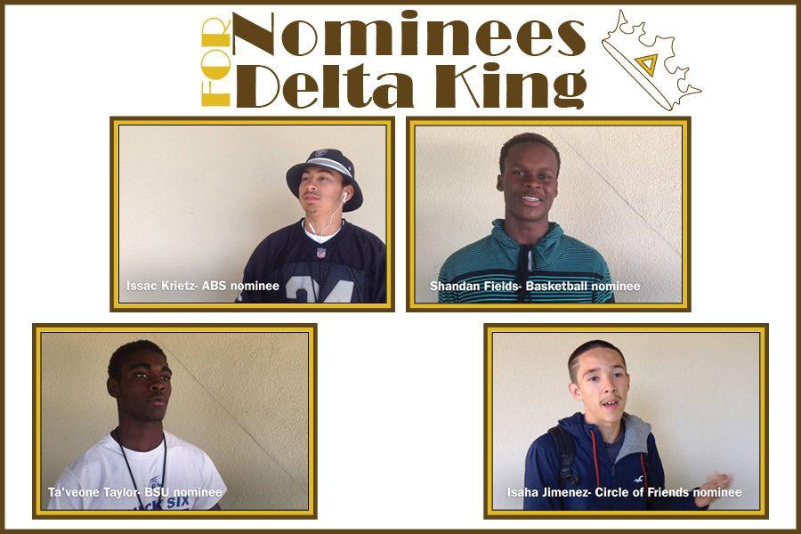 2016 Homecoming King Candidates