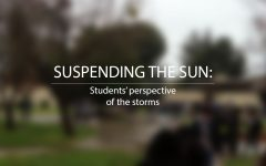 SUSPENDING THE SUN: Students' perspective of the storms