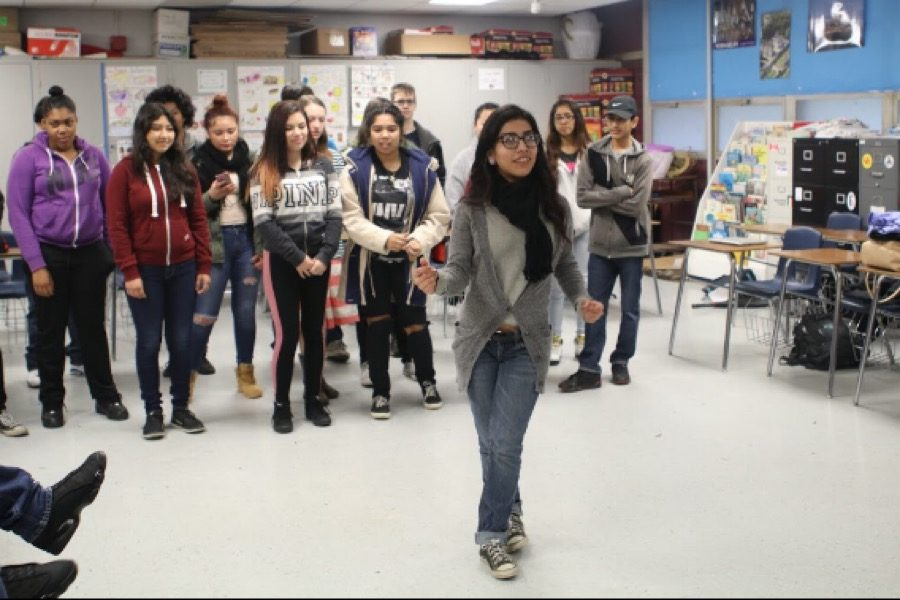 WEEKLY GALLERY: French students prepare Mardis Gras projects