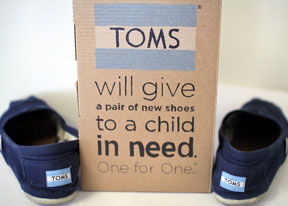 TOMS Creator Makes a Difference With Charity