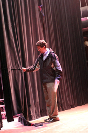 Arts program refuses to give up on theater