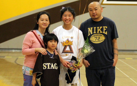 Girls basketball beats West on senior night