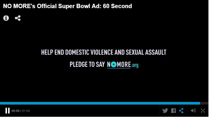 Domestic violence awareness during Super Bowl matters