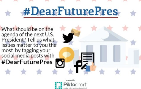 Tell us your thoughts with #DearFuturePres