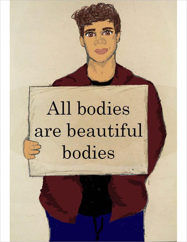Male body positivity deserves more attention