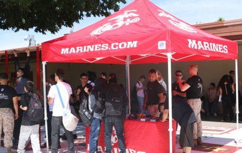 WEEKLY GALLERY: Marines visit campus
