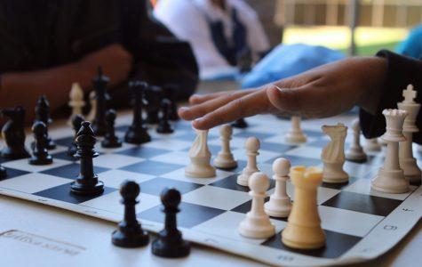 Chess club making their move