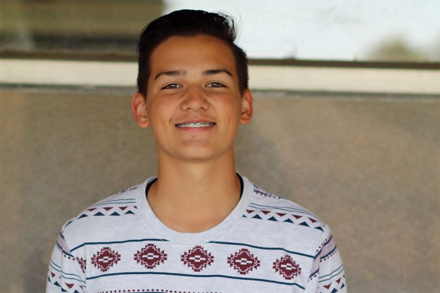 NICHOLAS ROSETE: Playing soccer becomes his goal