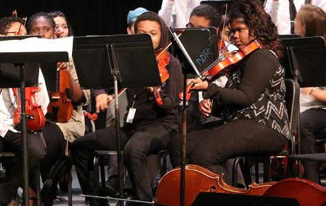 Student musicians perform all day for Educoncert