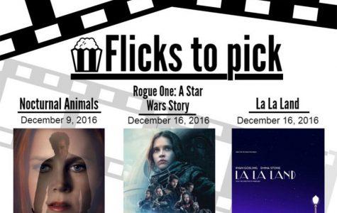 Flicks to pick for December 2016