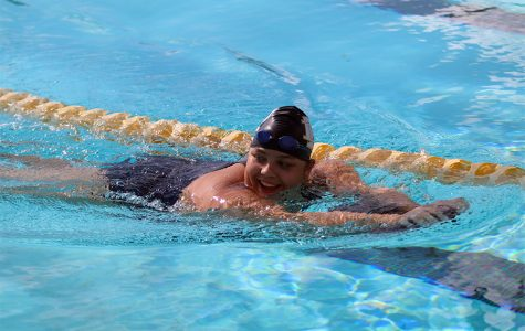 GINA MANGILI: A passion for swimming