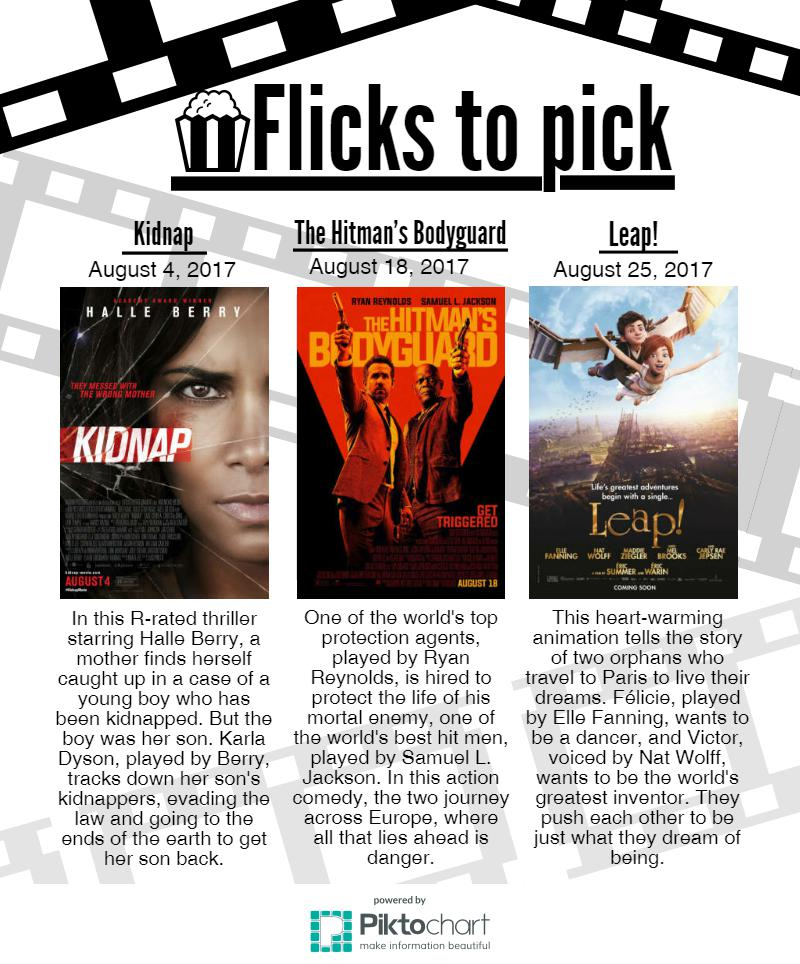 Flicks to Pick for August 2017