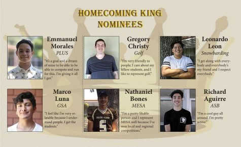 Homecoming Queen Nominees for 2017