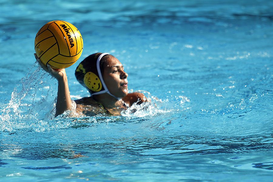 MALIA CHRISTIANO: Swim inspires water polo