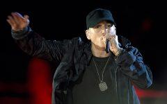 Eminem takes shots at the NRA