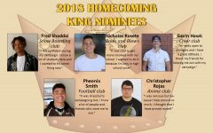 Homecoming King Nominees 2018-2019