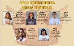 Homecoming Queen Nominees 2018-2019