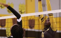 KARIS CARTER: Volleyball used as an outlet