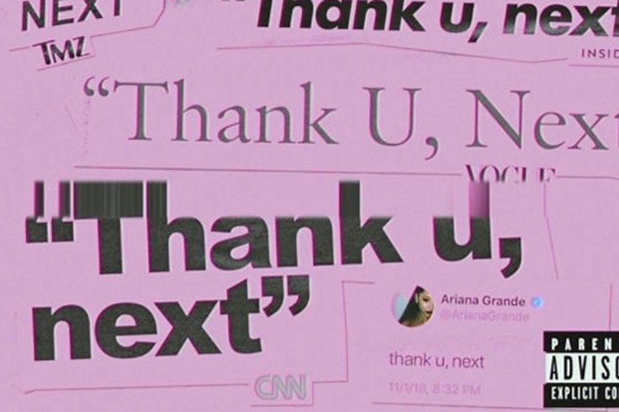 Ariana Grandes thank u, next music video No.1 on charts
