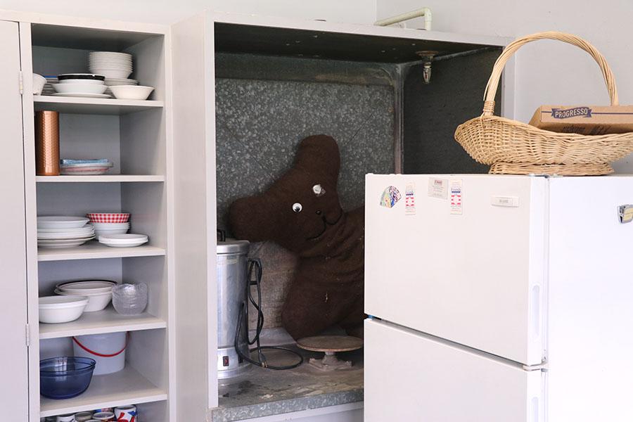 Berg+has+an+unusual+stuffed+animal+in+her+backroom.+
