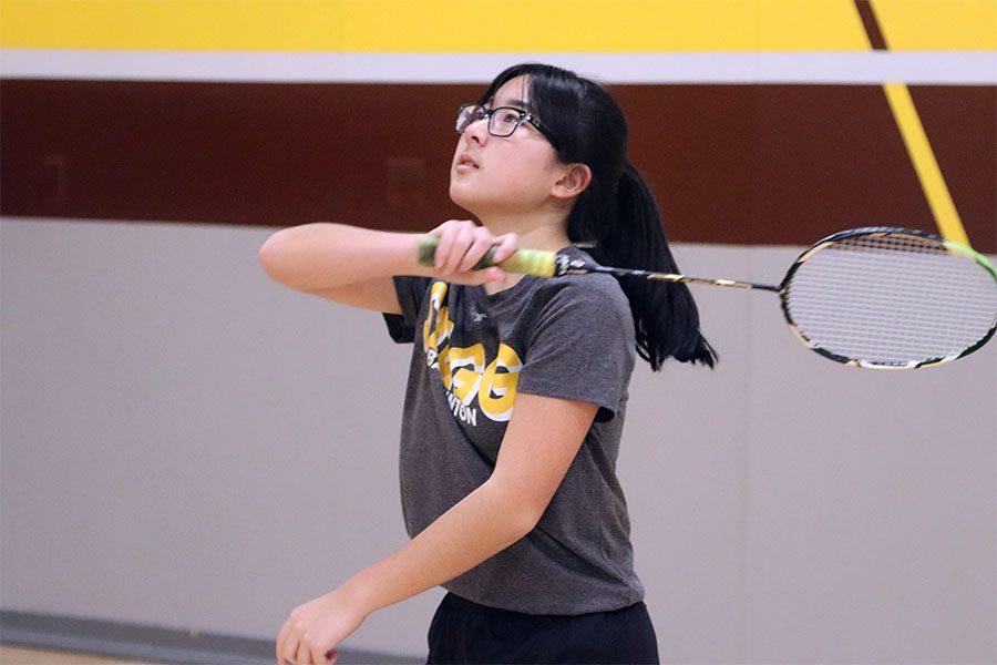 KRISTINA MATSUMOTO: Academically inspired to play badminton
